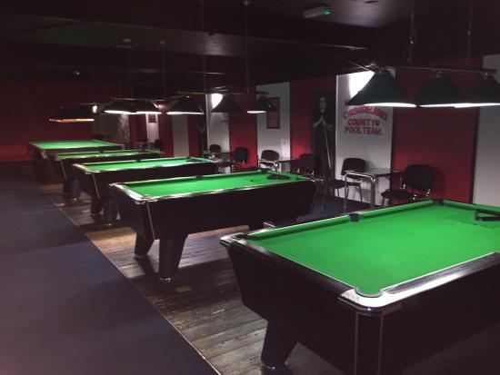 pool room upstairs at dishers pool snooker club picture of rh tripadvisor co za