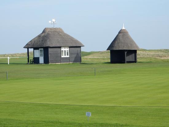 Royal St. George's Golf Club: starters hut