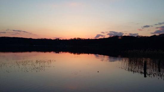 Buckow, Tyskland: Schöner Ausblick auf den See