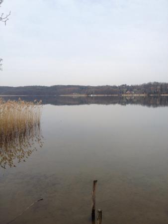 Buckow, Duitsland: Schöner Ausblick auf den See