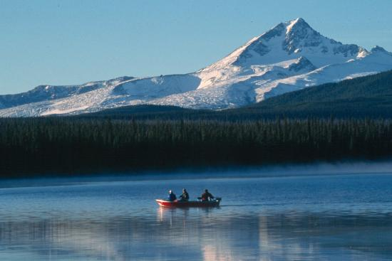 A wilderness fishing retreat in the Cariboo-Chilcotin