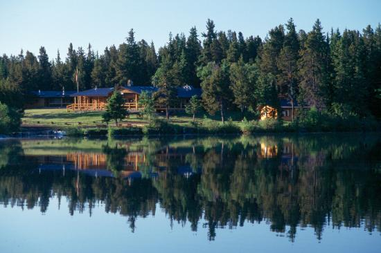 Cariboo, Canada: Traditional Canadian fishing lodge