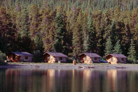 Cariboo, Canada: Rustic cabins