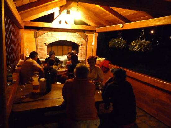 Fuzine, Kroatië: Night atmosphere