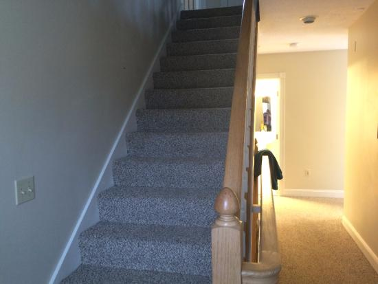 stairs to upstairs bedrooms picture of eastern slope inn north rh tripadvisor in
