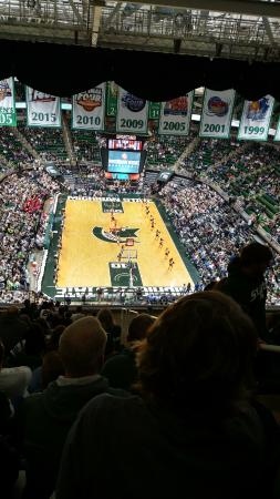 Jack Breslin Student Events Center: This was the MSU/Rutgers game