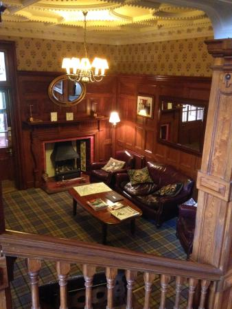 Mansfield Castle Hotel : Front of Reception / Seating Area
