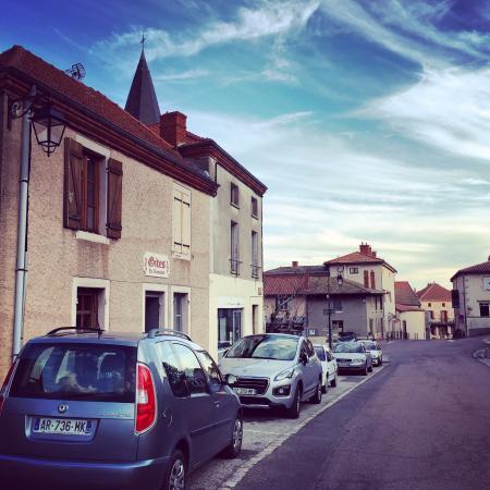 Ambierle, Frankrike: Gites Le Lancelot vooraanzicht