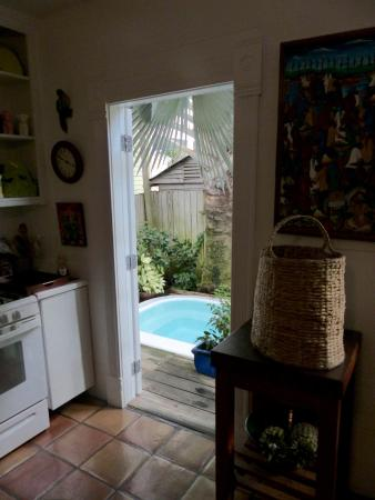 look out the kitchen door picture of key west bed and breakfast rh tripadvisor com
