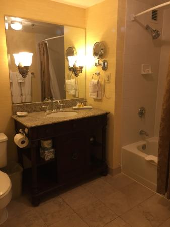 bathroom lighting was dim bathrooms are small even in this bigger rh tripadvisor ie