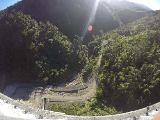 Sogod, Filipinas: The view down!