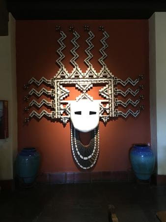 La Posada Hotel: Art work in the Lobby