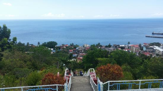 Maasin, Filipiny: View from the top