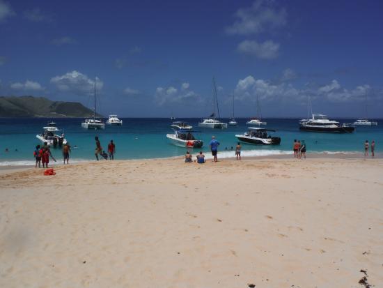Oyster Pond, St. Martin/St. Maarten: ILE de TINTAMARRE St. Martin