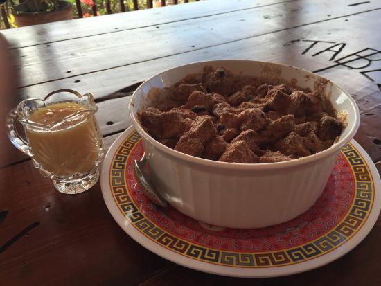 Nicole's Table : Rum Raisin Bread Pudding