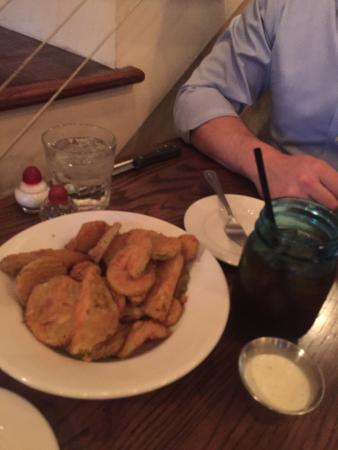 Athens, Джорджия: Fried Veggie App - the okra is awesome
