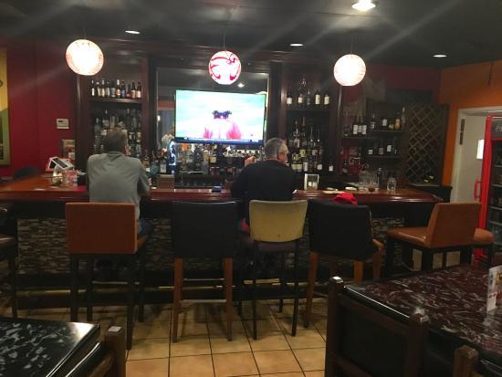 Hapeville, GA: The gathering bar -- always popular