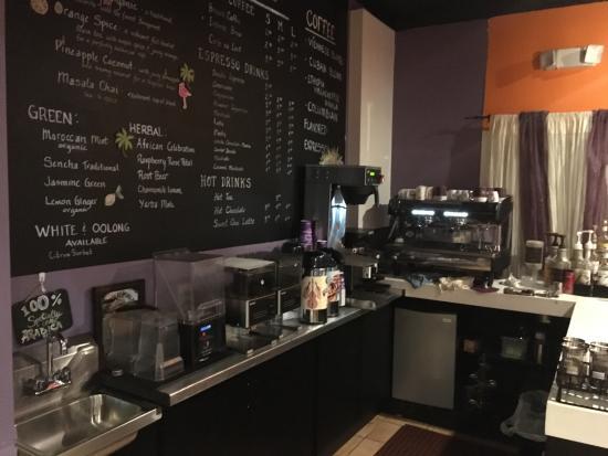 Hapeville, GA: Coffee bar area