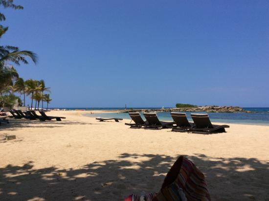 Chilling On The Beach At Melia Braco Village Jamaica