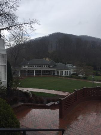 Hot Springs, VA: Cold day on the Grounds of the Homestead