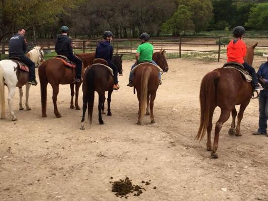 Rancho Cortez: Getting ready to ride