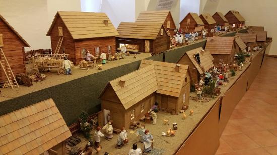 Brno, Çek Cumhuriyeti: Village Houses at Moravska Vesnicka Betlem