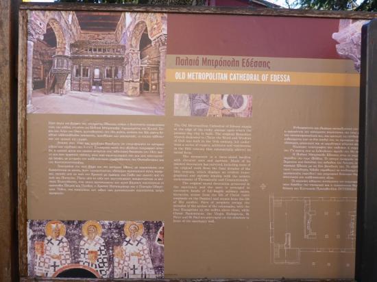 Church of the Koimisis (14th cent.): Информационный щит