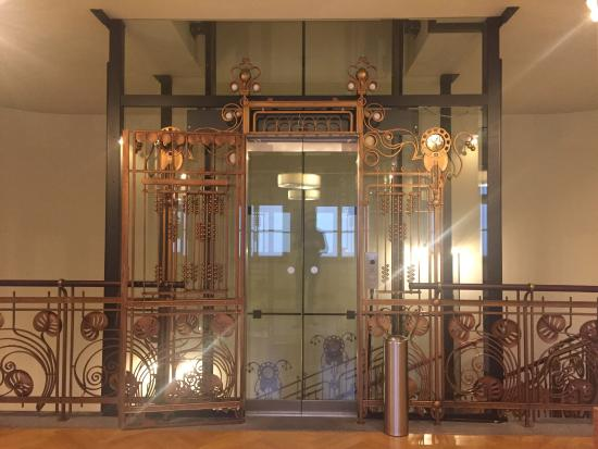 K Hotel Central Old Style Elevator Creates A Cosy Atmosphere It Is