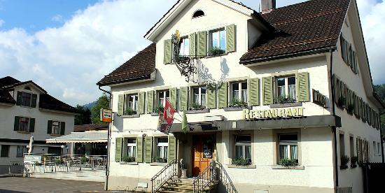 Ebnat-Kappel, Swiss: Restaurant Löwen