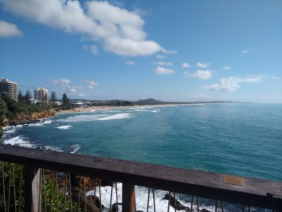Coolum Beach, Australië: View from Point Arkright
