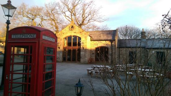 The Saddle Room Restaurant : bell barn