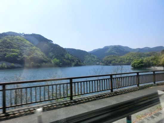 Kawachi Reservoir : 板櫃川を堰き止めて築造した人造湖