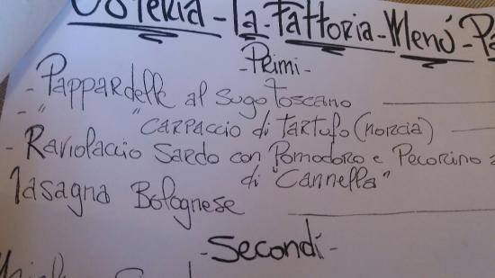 Montalcinello, Italia: La Fattoria