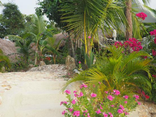 AL FARO Cosmio Hotel Palawan: I pool området.
