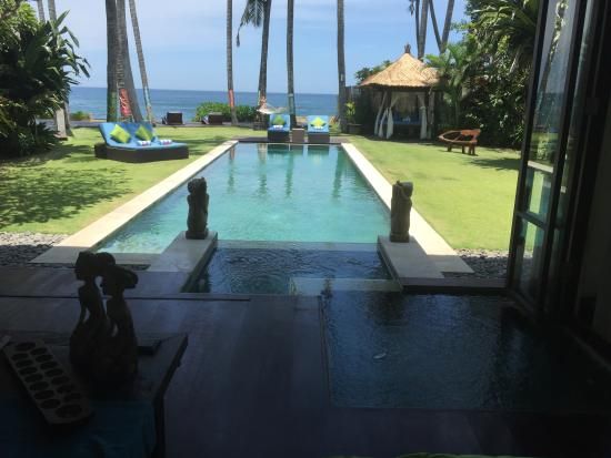 Ketewel, Indonesia: view from the lounge
