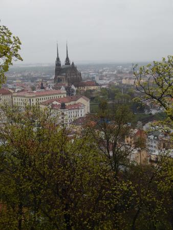 Brno, República Checa: pohľad zo Špilberka