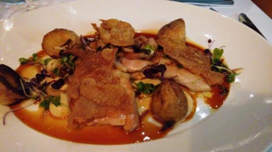 Toorak, Australia: free range roasted chicken with crisy chicken skin