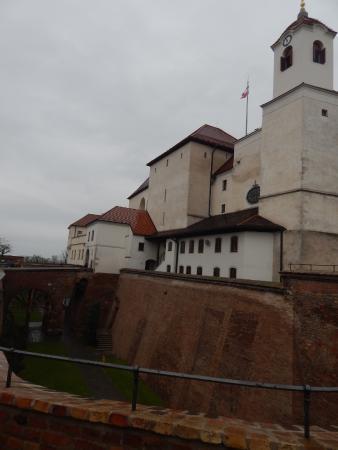 Brno, República Checa: pohľad na hrad