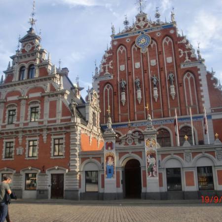 Riga Region, Latvia: Schwarzhäupterhaus