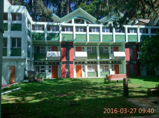 A very good hotel with more open space which is a rare commodity in Ooty
