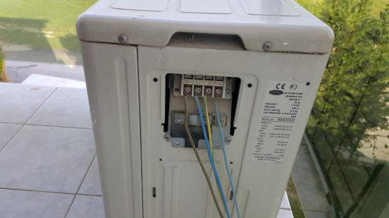 c fuse box inside the dressing and \