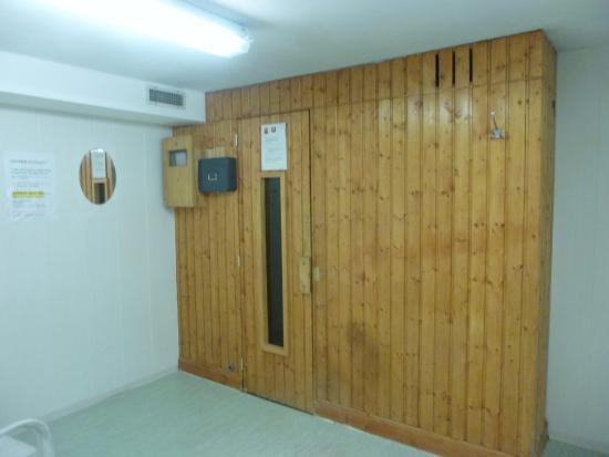 Wepion, Bélgica: Sauna...