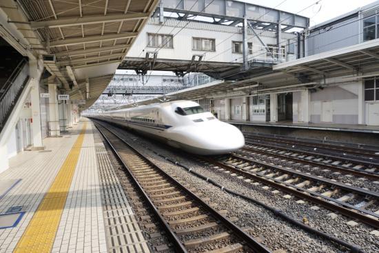 Chugoku, Japan: 2 Shinkansen