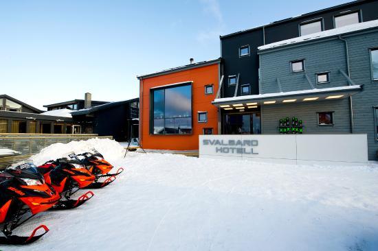 Svalbard Hotel: Facade main building