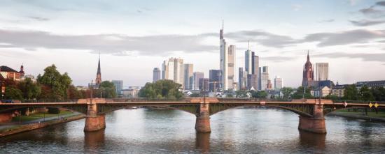 NH Frankfurt Villa: Frankfurt, Skyline