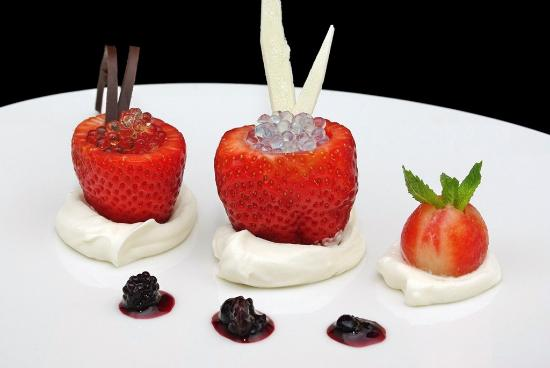 BLoved: Fresas de Aranjuez confitadas con nata y mascarpone