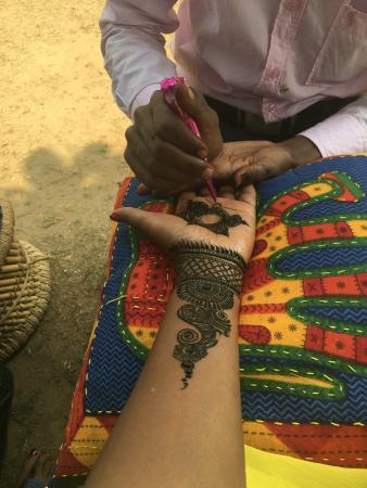 Henna Picture Of Golden Triangle Tours India New Delhi Tripadvisor