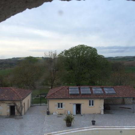 Castelmoron-sur-Lot, Frankrike: Sur la campagne du printemps