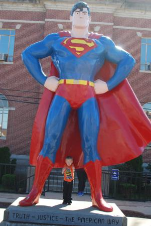 Superman thumbs up