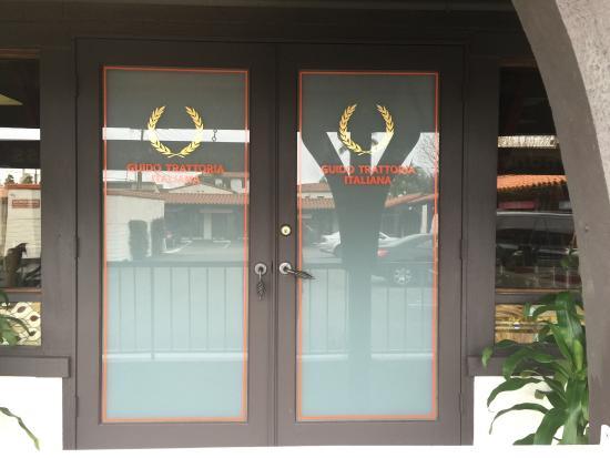 San Clemente, Californië: Pix of the restaurant Guido Trattoria Italiana